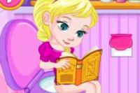 Bébé Elsa au Pot