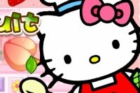 Coupe de Fruits avec Hello Kitty