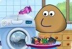 Fais la lessive avec Pou