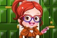 Habiller Bébé Hazel en détective