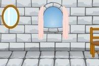 La princesse s'échappe du château