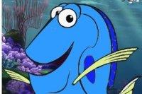 Livre de coloriage Finding Dory