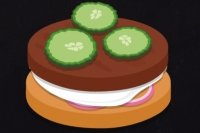 Préparer un hamburger