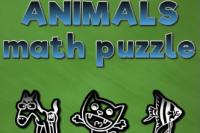 Puzzle Calcul Animaux