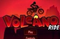 Trajet volcanique