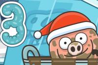 Le petit cochon dans la boue 3
